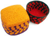 More Tapestry Crochet Square Woolen Hats/Baskets by tapestrycrochet