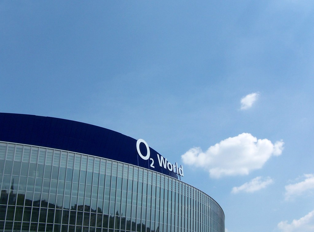 Berlin mercedes benz arena ehemals o world fertig for Mercedes benz stadium will call location