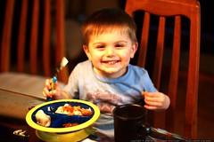 enjoying a chinese takeout dinner c/o john kiser    …