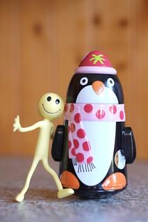My friend, penguin