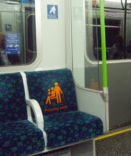 Priority Seat Moquette