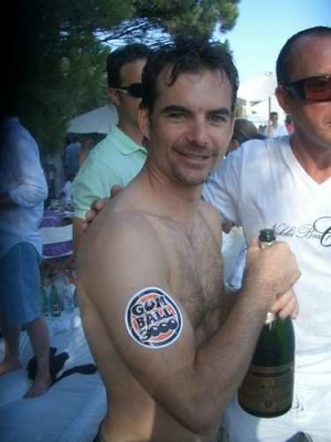 Jeff Gordon Gay, Dating Stephen Rhodes? Hardly
