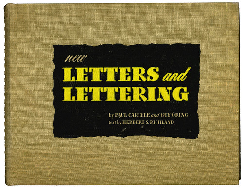New Letters and Lettering cover