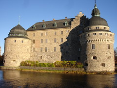 Örebro castle in Sweden