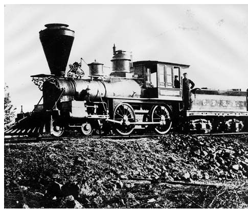 Central Pacific Railroad - 1868