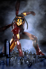 iron man, superhero, action figure,