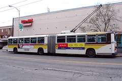 MAN Articulated Trolley Bus