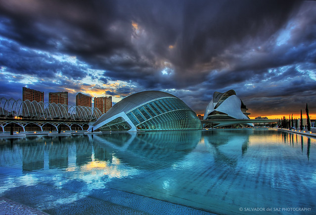 The day that the sky crashed down at the City of Arts and Sciences