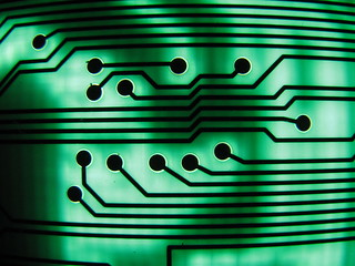 green circuit board II