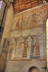 fresques murales de l'église - Photo of Saint-Pierre-des-Bois