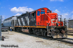 CN 4014 | EMD GP9RM | CN Hollywood Yard