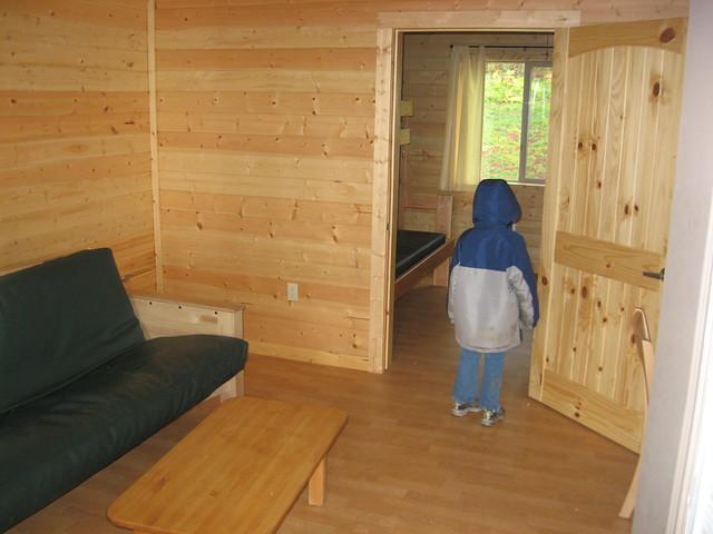 Cabin interior at l l stub stewart state park flickr for Stub stewart cabins