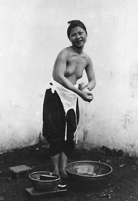 1919-1926 Le lavage des cheveux