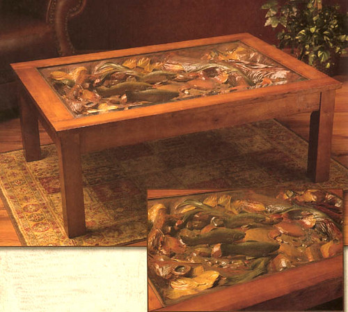 Trout Stream Coffee Table