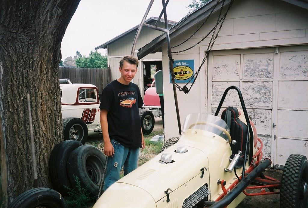 Racing In Kansas Andre Miller Hanston Ks By Roger Burn