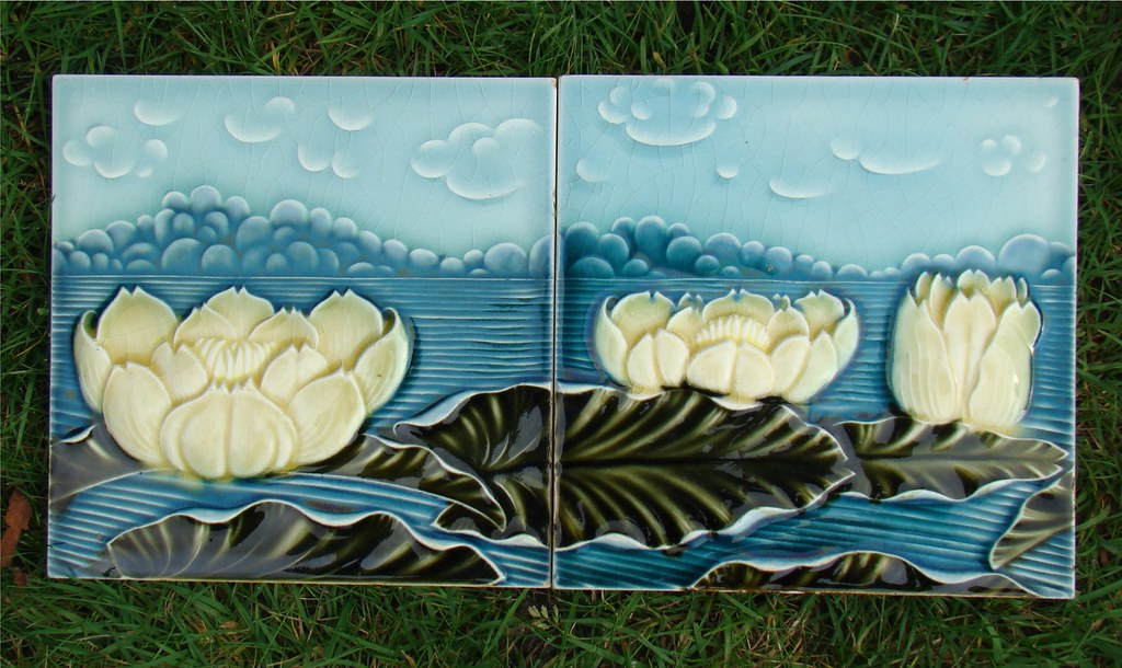 Art Deco Tegels : Art nouveau tegels art nouveau tile jugendstil fliesen flickr