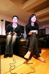 sister vs sister   mario kart showdown    MG 8223