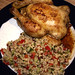 Small photo of Poussin med tabbouleh og myntedressing