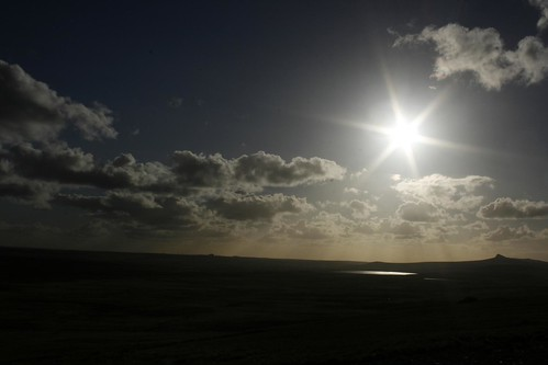 sunset mountpleasant falklandislands