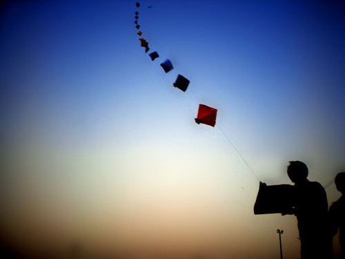 Kiting in different way !