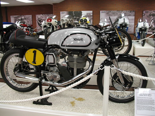 Norton in National Motorcycle Museum
