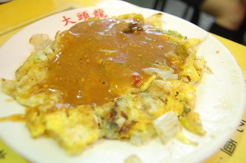 蚵仔煎(牡蠣入りオムレツ)