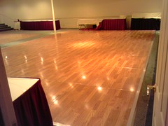 Dance Floor Under the Lights
