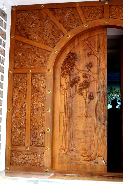 Tamon get teak wood main door designs for houses Wooden main door designs in india