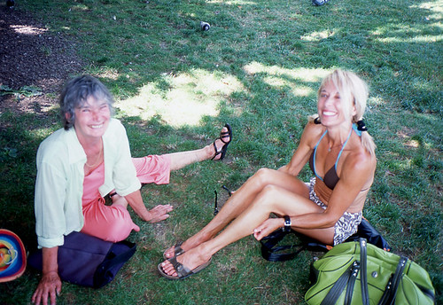 Barbara and I, last summer in Geneva
