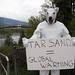Polar Bear Alberta Oil Sands Protest in Vancouver, BC, Canada by The Arctic Front