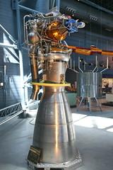 Rocket Engine, Liquid Fuel, Viking 5C