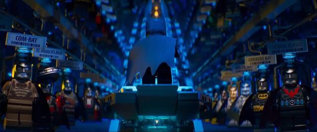 Scena z The LEGO Batman Movie 13