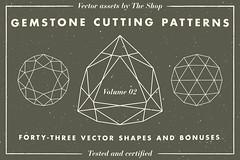 Gemstone cutting pattern volume 02