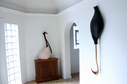 """Trophy Room"" Installation View"