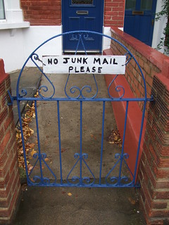 No Junk mail please...