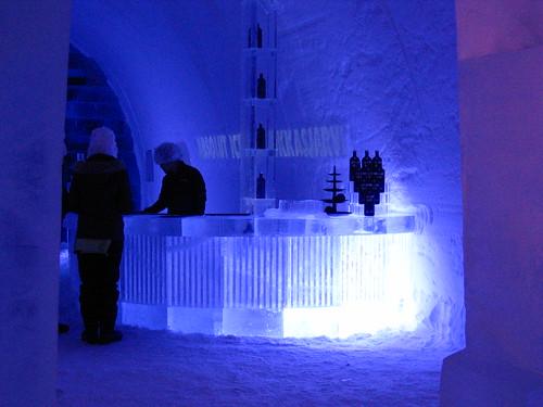 Ice Hotel - Ice Bar