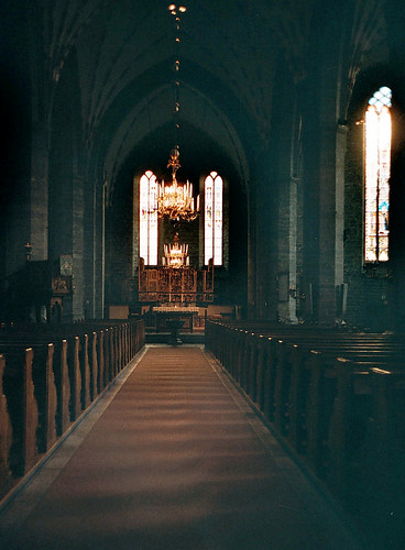 Vadstena  klosterkyrka by Elmar Eye