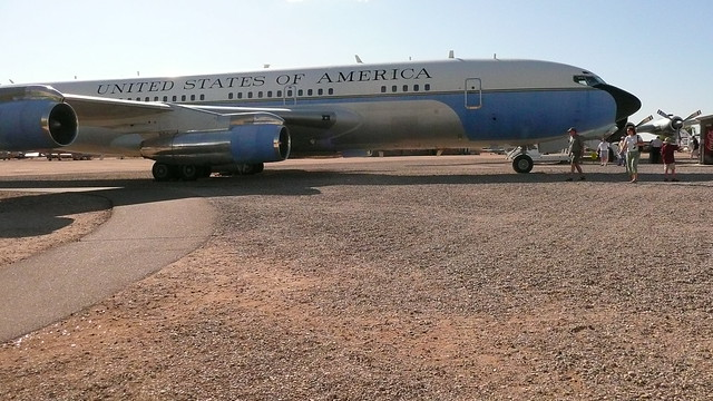 Header of Air Force One