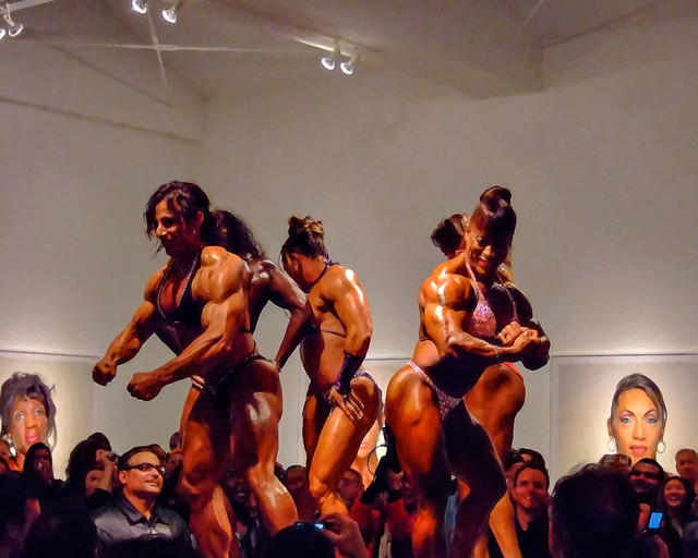 bodybuilders. beverly hills, ca. 2008.