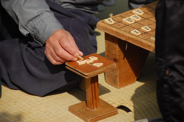 Shogi pieces