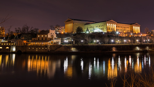 urban artmuseum city waterworks philly water reflections nightphotography schuylkillriver westriverdrive longexposure philadelphia philadelphiamuseumofart pennsylvania unitedstates us nikon d800e travel