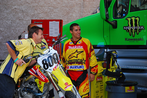 TEAM SUZUKI SUPERCROSS