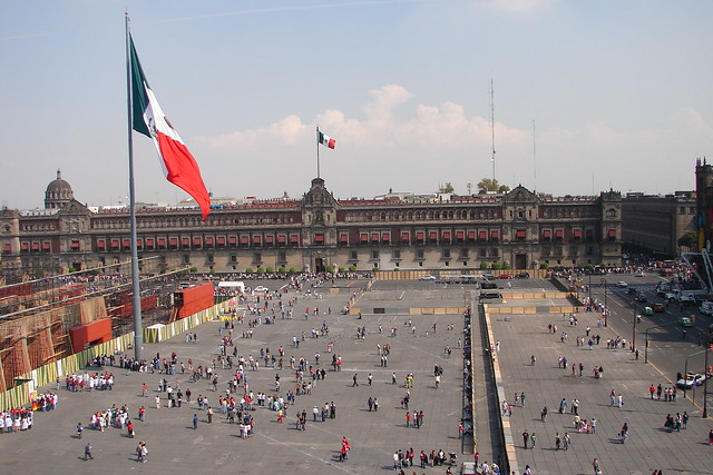 Zócalo, Mexico City Travel Guide by CC user antonystanley on Flickr