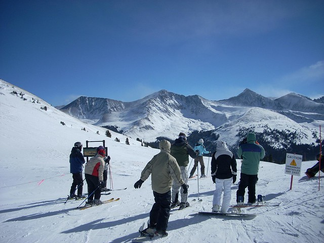 January 2008 Skiing at Copper Mountain