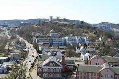 Slottsfjellstårnet og Haugar
