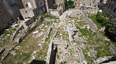 Ruins From Atop Dubrovnik's City Walls