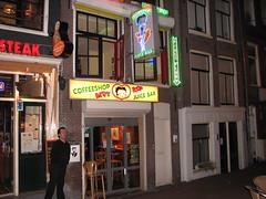 the Betty Boop coffeeshop