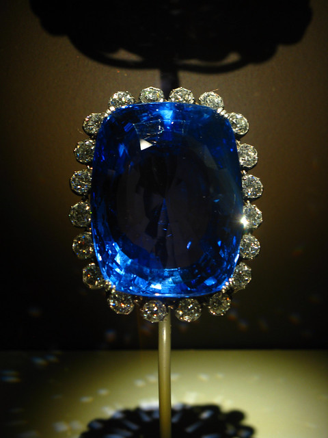 Natural Blue Sapphire Rings White Gold