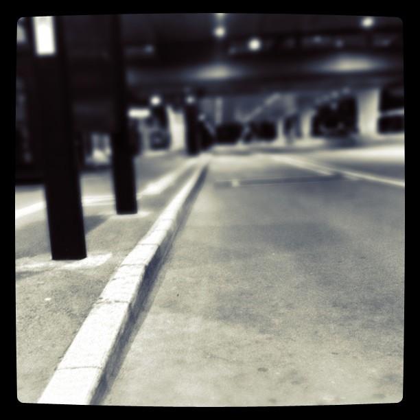 空港はゴーストタウン