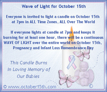 Will You Join Us in Commemorating Pregnancy and Infant Loss Remembrance Day? from Flickr via Wylio